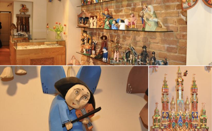 Drewniane ręcznie tworzone anioły oraz szopki bożonarodzeniowe doskonałe na prezent